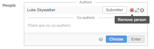 Authors Widget